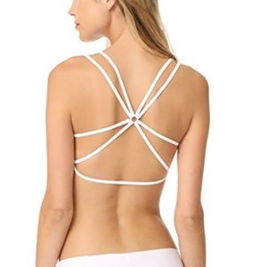 New Free People Let With You Strappy Back Bralette